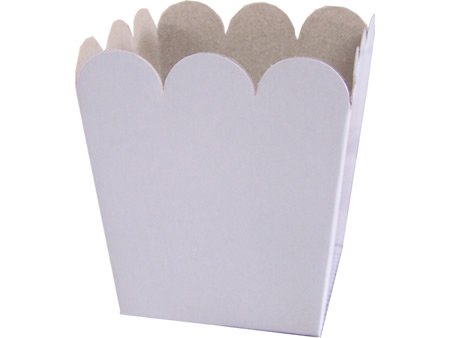 Molde para caja de papas fritas - Imagui